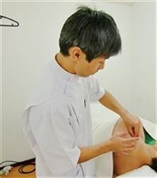 一心治療院鍼灸施術画像