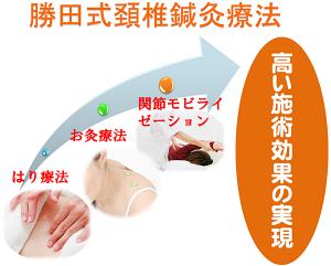 勝田式頚椎鍼灸療法