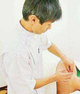 大阪鍼灸院一心治療院治療画像
