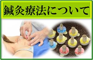 鍼灸療法についてバナー